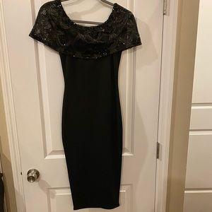 Women's black dress size 4